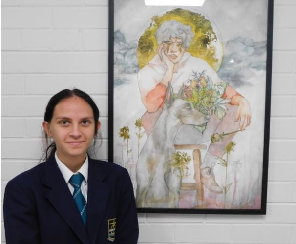 Emmanuel Catholic College student Tia Christophers.