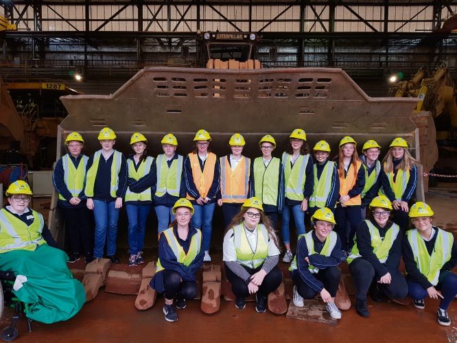 Pinjarra SHS students introduced to mining industry