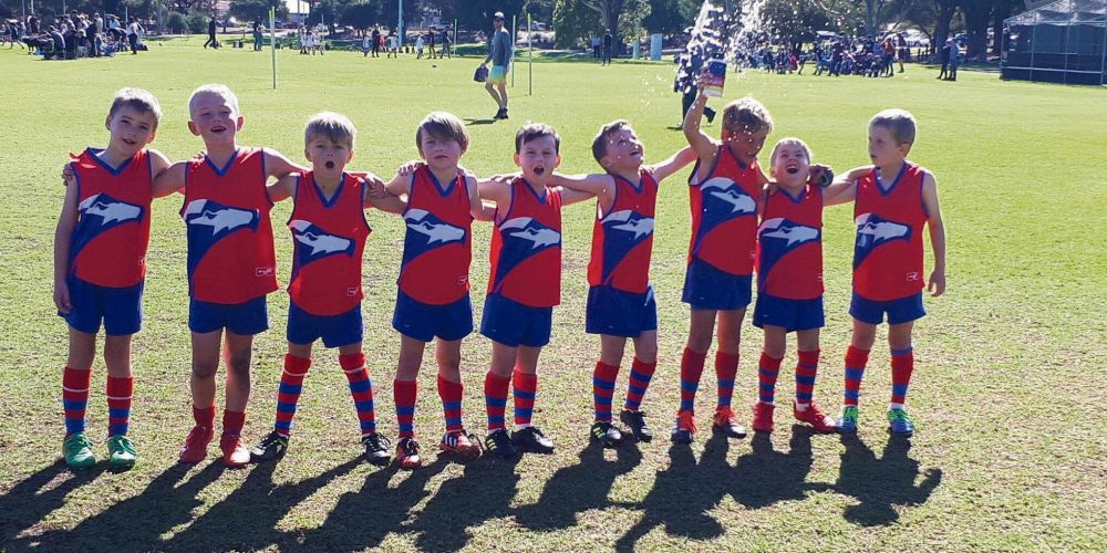 Yanchep Districts Junior Football Club's Year 2 Auskickers will be showing off their skills at the gala day.