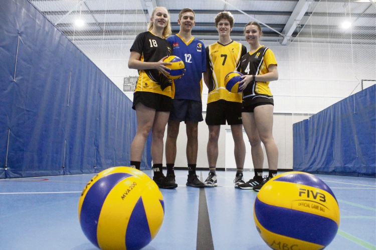 Nerinne Prinsloo (14), Louwrens Prinsloo (16), Josh Howat (17) and Shona Howie (16) have all be chosen to play for WA.