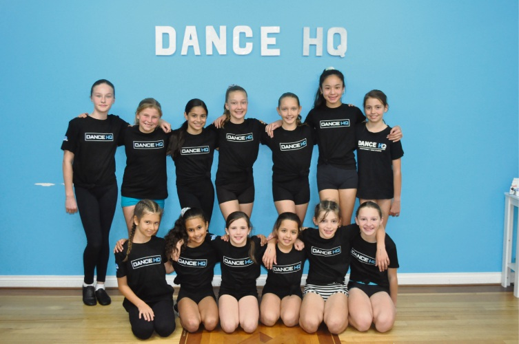 The Dance HQ dancers who are running their own concert. Photo: Ben Smith.