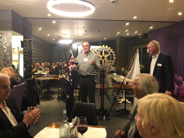 Rotary Club of Cockburn members celebrating their 50th anniversary.