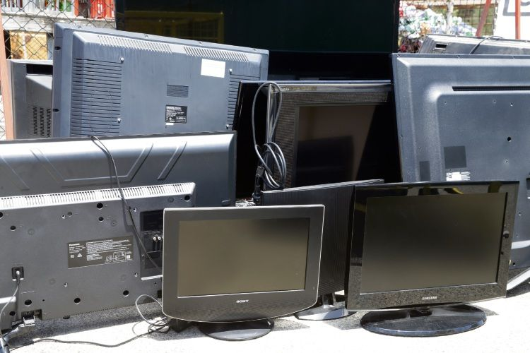 E-waste collections are on again this weekend.