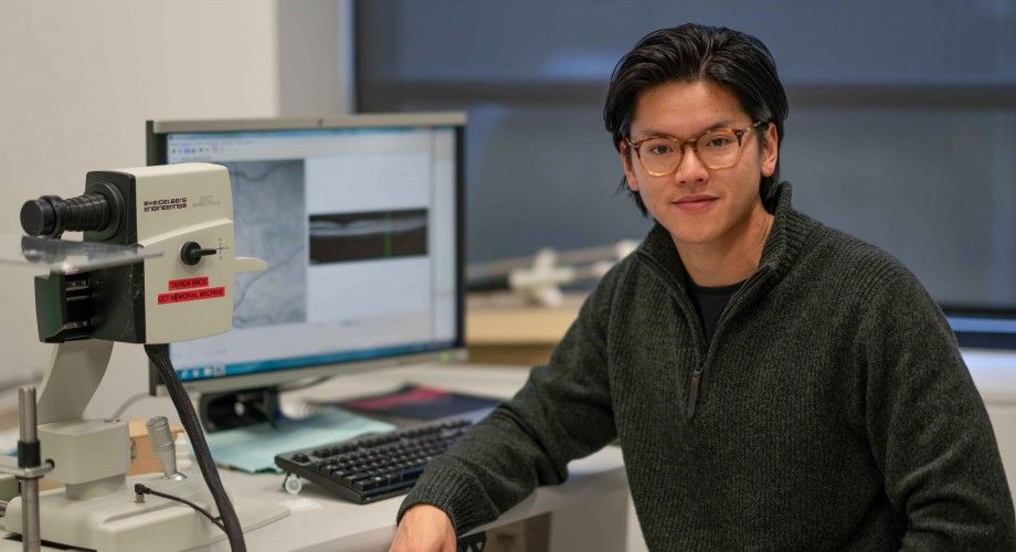 Dr Joshua Chu-Tan, from The John Curtin School of Medical Research. Picture: Supplied