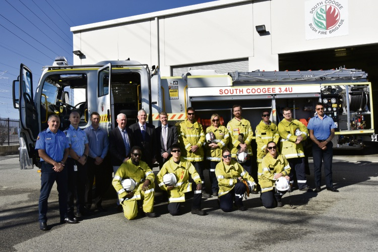 New truck to aid brigade in bush fire battle