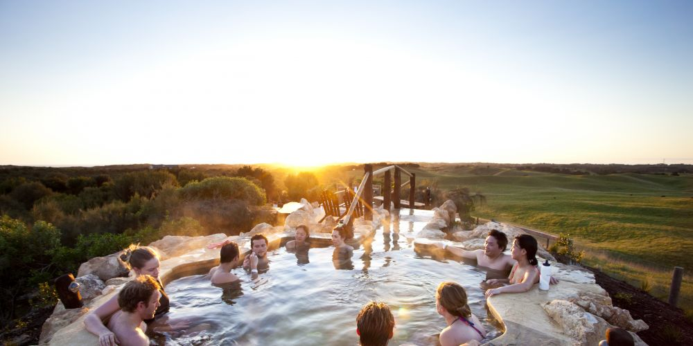 Thermal pool. Picture: Tourism Council of WA.