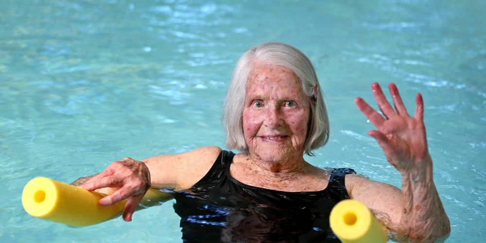 Jean Gartside of Eden Hill is turning 100 on August 27. Picture: David Baylis.        www.communitypix.com.au    d495094