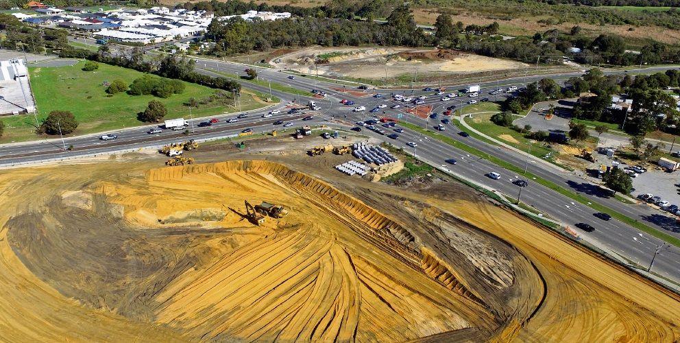 Wanneroo Road-Ocean Reef Road interchange site. File picture: David Baylis d494329