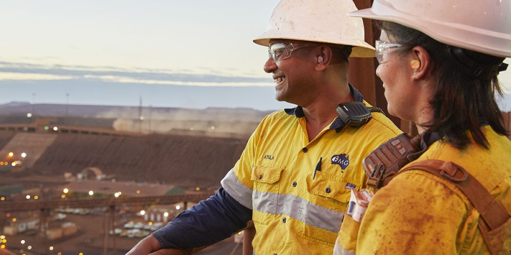 Fortescue Metals Group has almost tripled its full-year profit and doubled its final dividend due to robust output and soaring iron ore prices.
