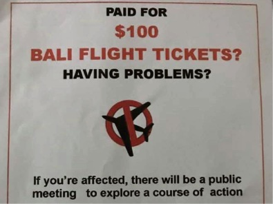 Consumer Protection receives complaints about Bali tickets bought on Facebook