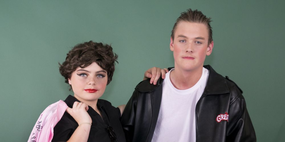 Kinross College students Imogen Jones and Javier Shoosmith will play Rizzo and Kenickie in Grease The Musical.