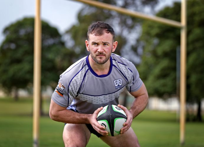 Leighton Morrell of Inglewood, who plays for The Perth Rams. Picture: David Baylis.          www.communitypix,.com.au      d494991