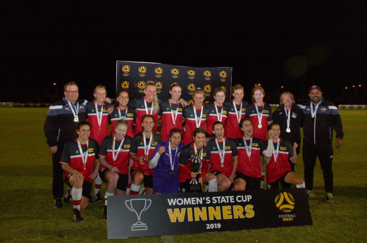 Soccer: Northern Redbacks claim Women's State Cup