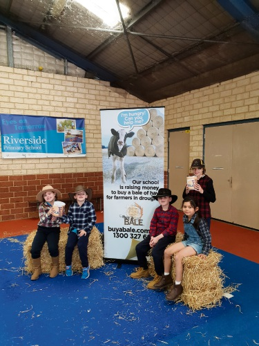 Riverside PS raises funds for struggling farmers