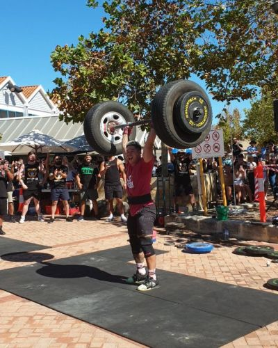 Ngarimu Ahipene will represent Australia at the Official Strongman Games.