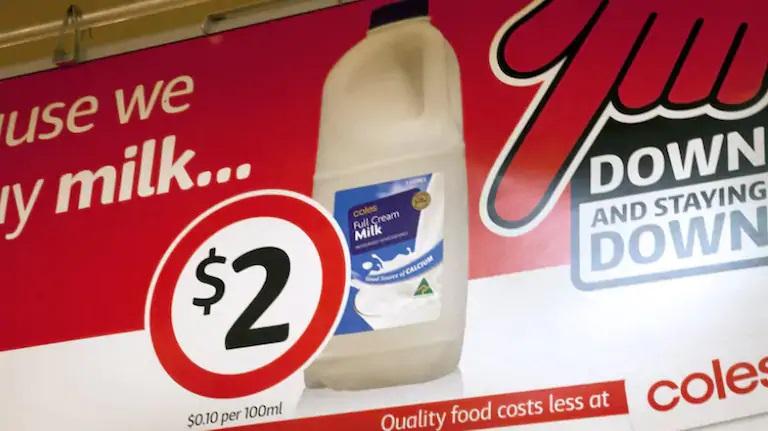 Coles issues WA milk recall