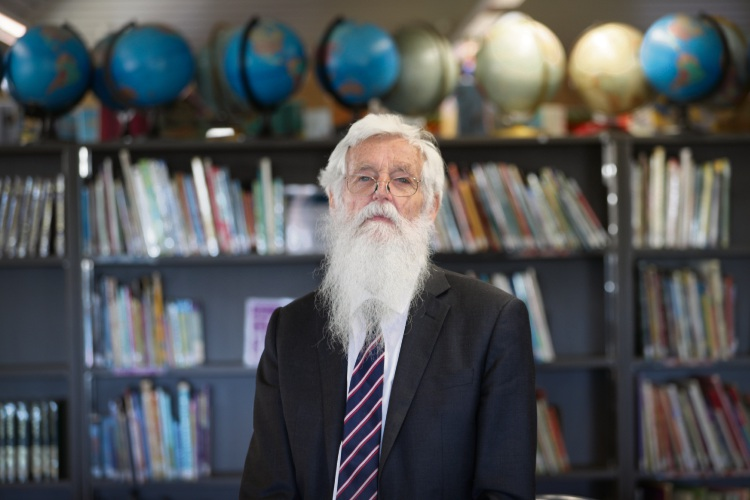 Deputy Principal Syd Sanders looks back at his time in Carlisle PS. Picture: Andrew Ritchie