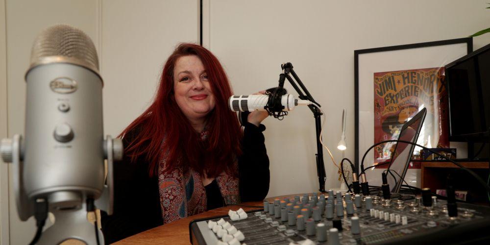 Radio Moosh station manager Nesa Wake. Picture: Andrew Ritchie     www.comunitypix.com.au  d495399