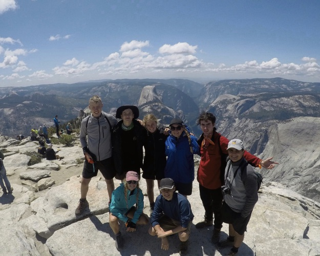 Students enjoy environmental exploration in the US