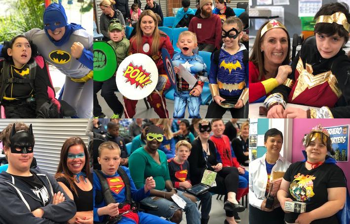 Burbridge School superheroes. Pictures: Burbridge School