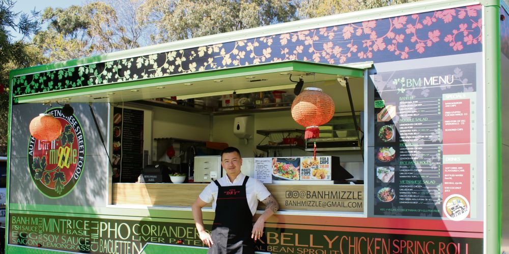 Food truck operator Khoa Mai. Picture: City of Wanneroo