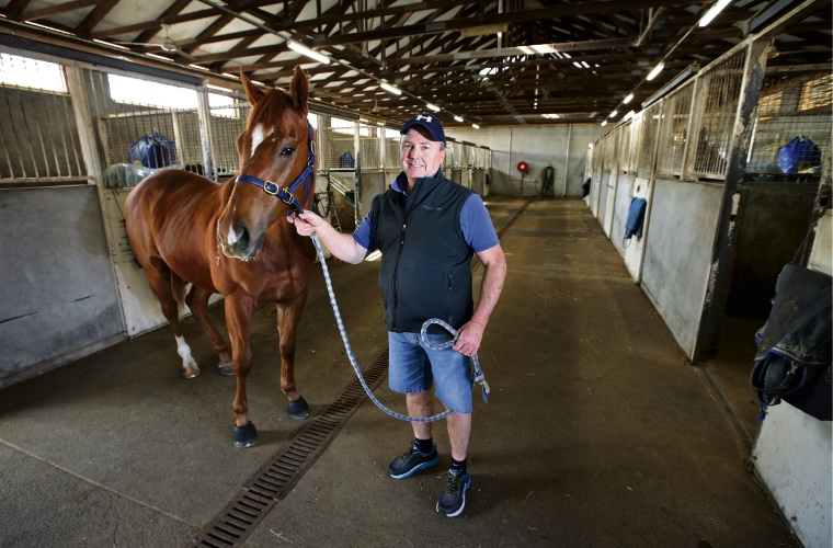 Property prices are in freefall in Ascot with stable owners calling for change