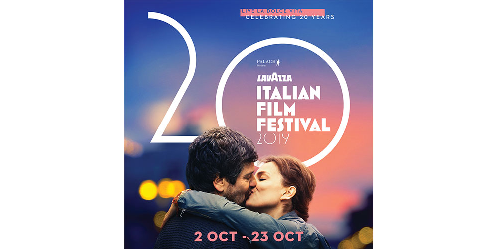 Win tickets to the Lavazza Italian Film Festival 2019