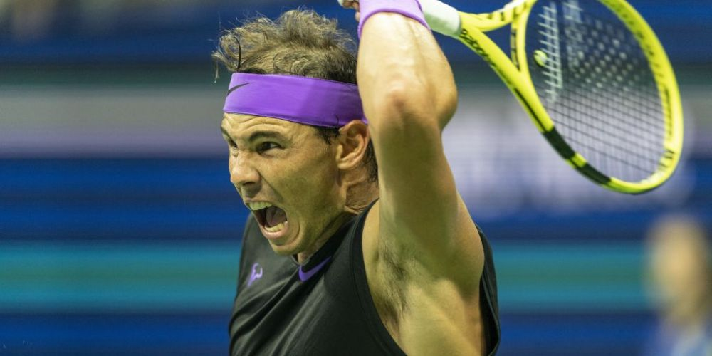 Rafael Nadal is bringing his famous forehand to Perth. Photo: Getty