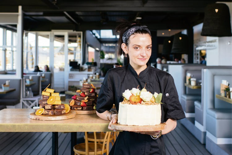 The Shorehouse pastry chef Ella Saleeba.