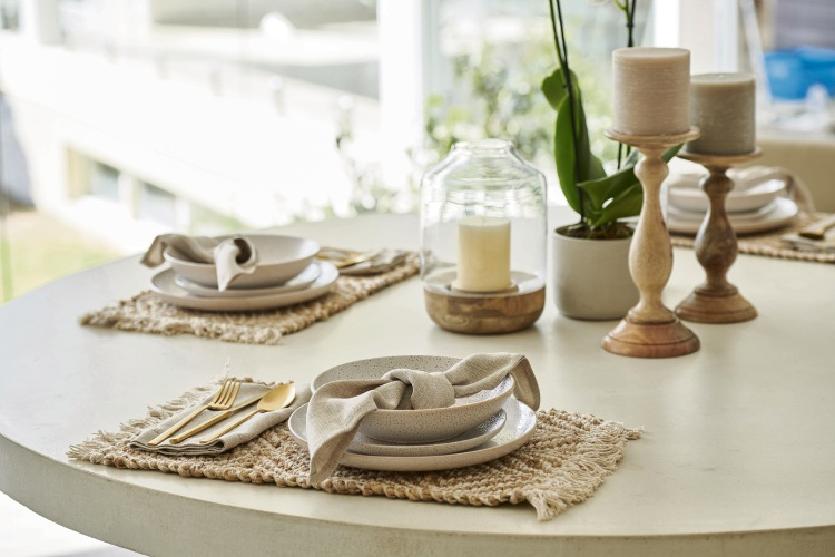Homewares from Cockburn Gateway Shopping City's spring-summer 19 campaign.