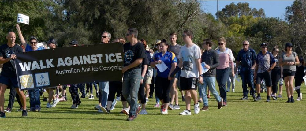 Residents join Walk Against Ice