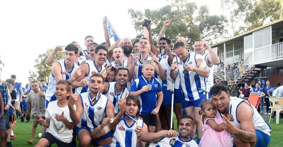 Sunday celebrations for Metro Football League premiers