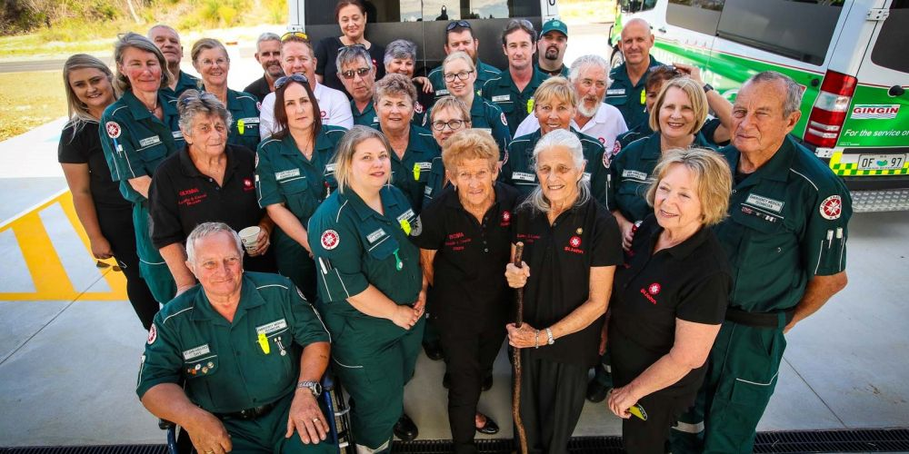 St John WA staff and volunteers from the Wheatbelt. Picture: Kym Illman