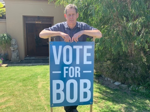 Council candidate disappointed after campaign signs taken