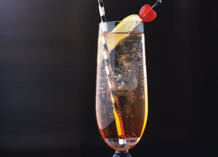 The Singapore Sling is a gin-based cocktail. Photo: Getty