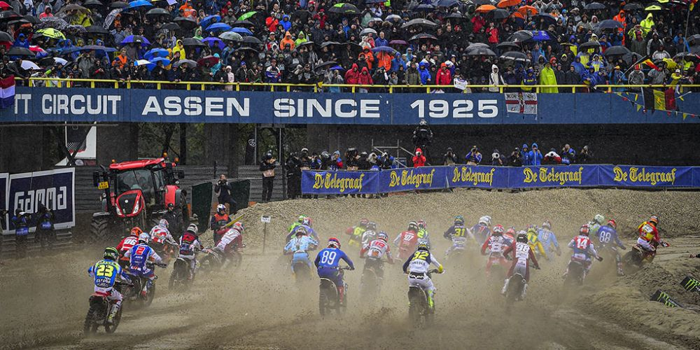 2019 FIM Motocross of Nations at Assen, Netherlands. Picture: MXStore & MXGP