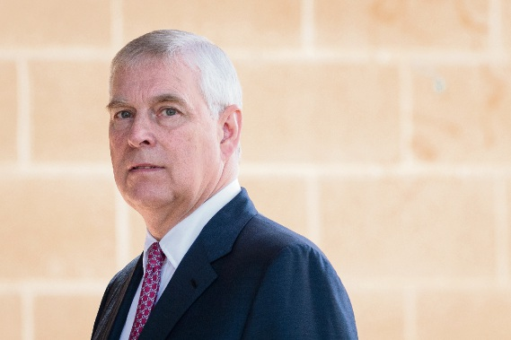 Prince Andrew arrives at Murdoch University in Perth. Picture: AAP Image/Richard Wainwright