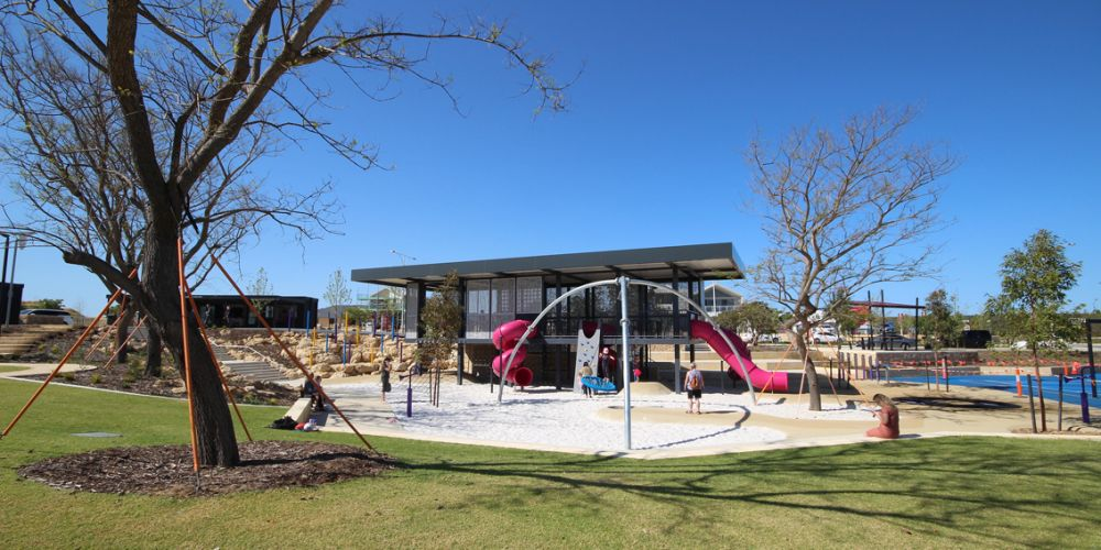 Cancer Council WA has endorsed Picasso Park for its shade features.