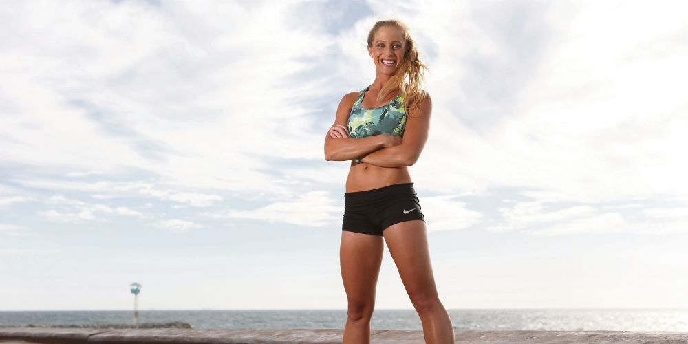 Sarah Beck is a 2019 Perth Running Festival champion.