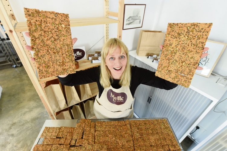 d486419a Mette Nielsen with a batch of award-winning Nordic Crackers. Picture: Jon Hewson