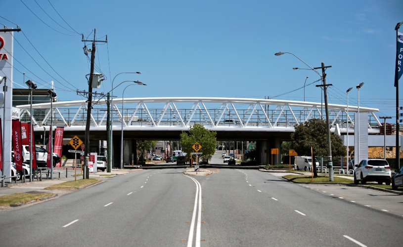 The new bridge over Scarborough Beach Road in Osborne Park. Photo: David Baylis