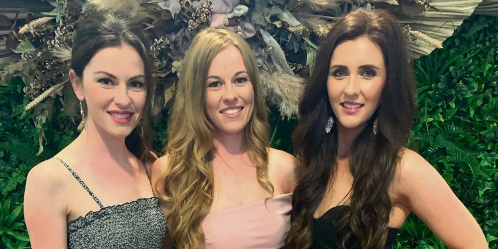 Melanie Kidd, Rebecca Kidd and Emma Howlett.