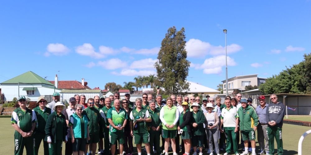 Bassendean Bowling Club members.