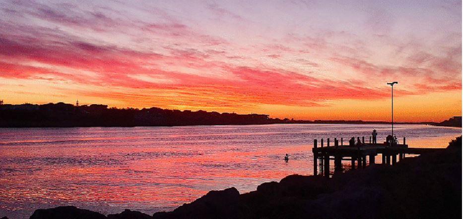 Mandy Matich took this sunset photo in Mandurah.