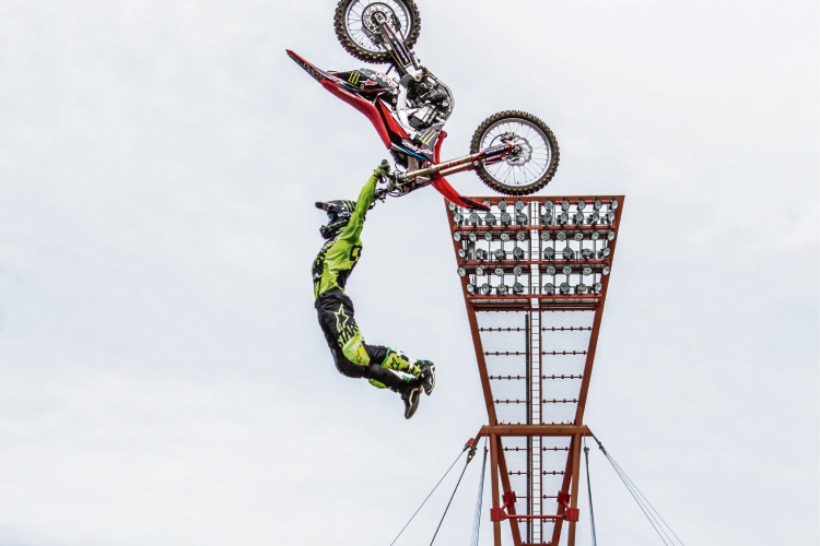 See Freestyle Moto X champ in action