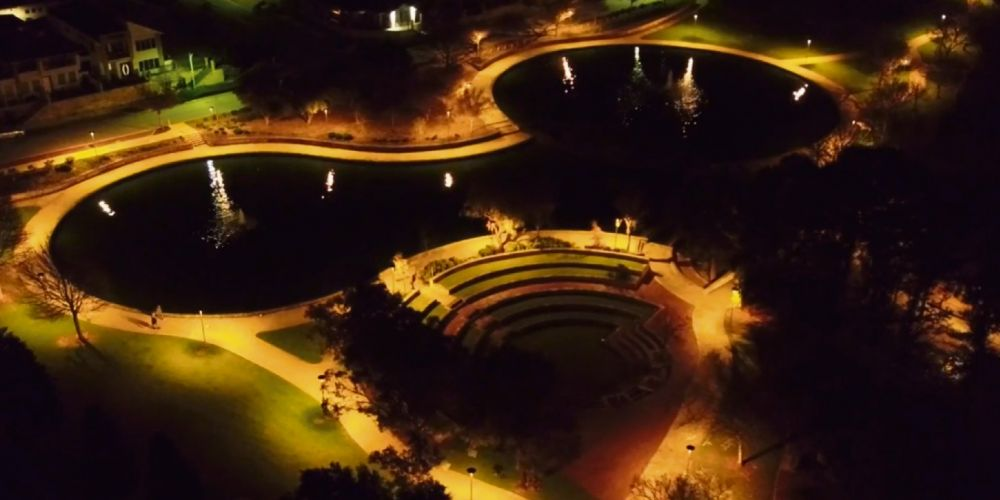 Sir James McCusker Park recently had a significant lighting upgrade.