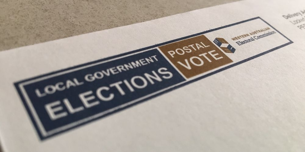 Voters can return ballot papers by post.