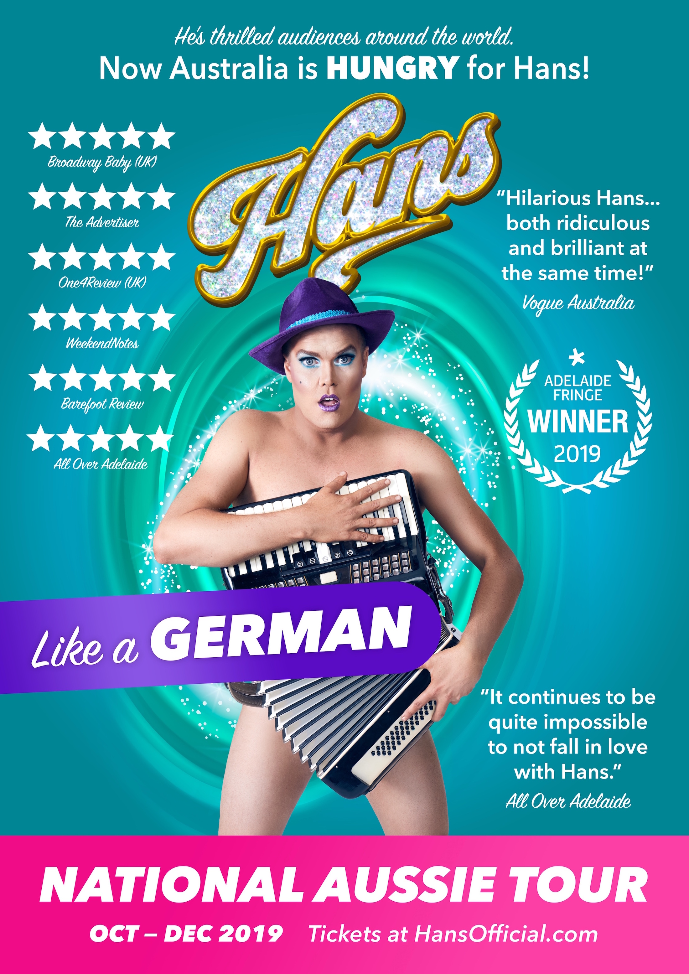 Hans-Like-a-German-National-Tour-Poster