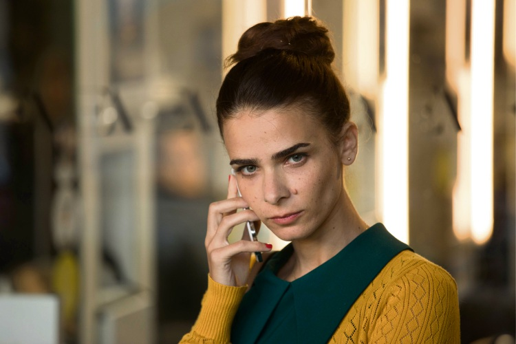 Liron Ben-Shlush as Orna in Working Woman.