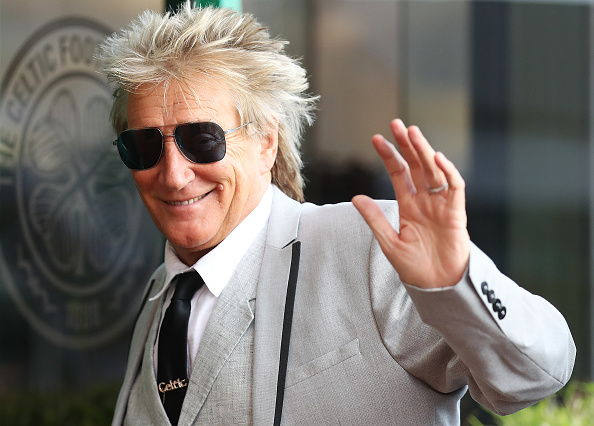 Rod Stewart at Celtic Park in Glasgow. Picture: Ian MacNicol/Getty Images